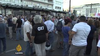 Rival sides in Greece rally ahead of key bailout referendum - ALJAZEERAENGLISH