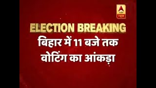 Nearly 19% polling recorded in Bihar polls by 11 am - ABPNEWSTV