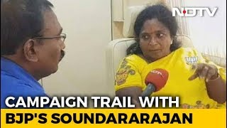 BJP's Tamilisai Soundararajan Says Only DMK Has Anti-National Record - NDTV