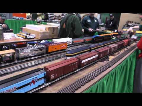 National Capital Trackers at Upper Marlboro Train Show, March 2013