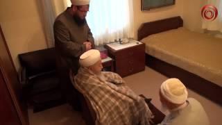 Meşhur Kurra Hafız Hüseyin Harputoğlu, Efendi Hazretlerini (Kuddise Sirruhu) ziyaret edip duasını aldı.