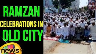 Ramzan Celebrations In Hyderabad | Eid Mubarak | Old City | Charminar | Mango News - MANGONEWS