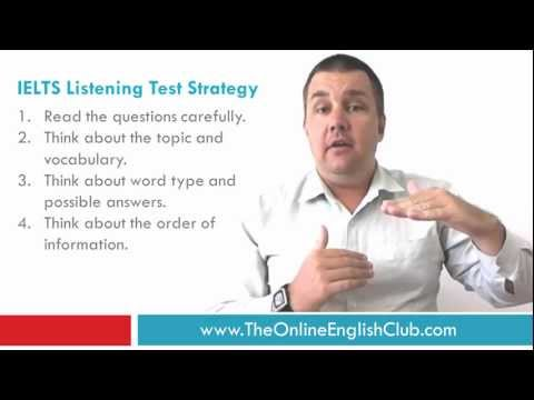 IELTS Listening Tips - IELTS Listening Test Strategy