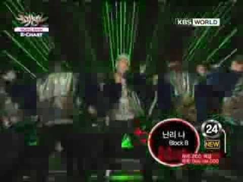 [Music Bank K-Chart] Block B - Rockin' Now (2012.02.10)