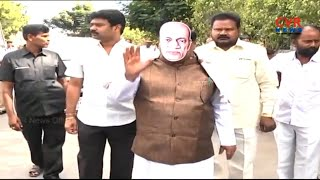 TDP MP Siva Prasad Slams PM Modi In #SardarVallabhaiPatel Getup l CVR NEWS - CVRNEWSOFFICIAL