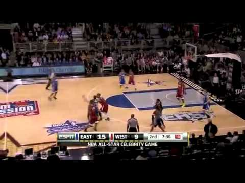 NBA East vs West 2011 Full Game Recap - Justin Bieber as MVP - NBA All Star 2011 Celebrity Game