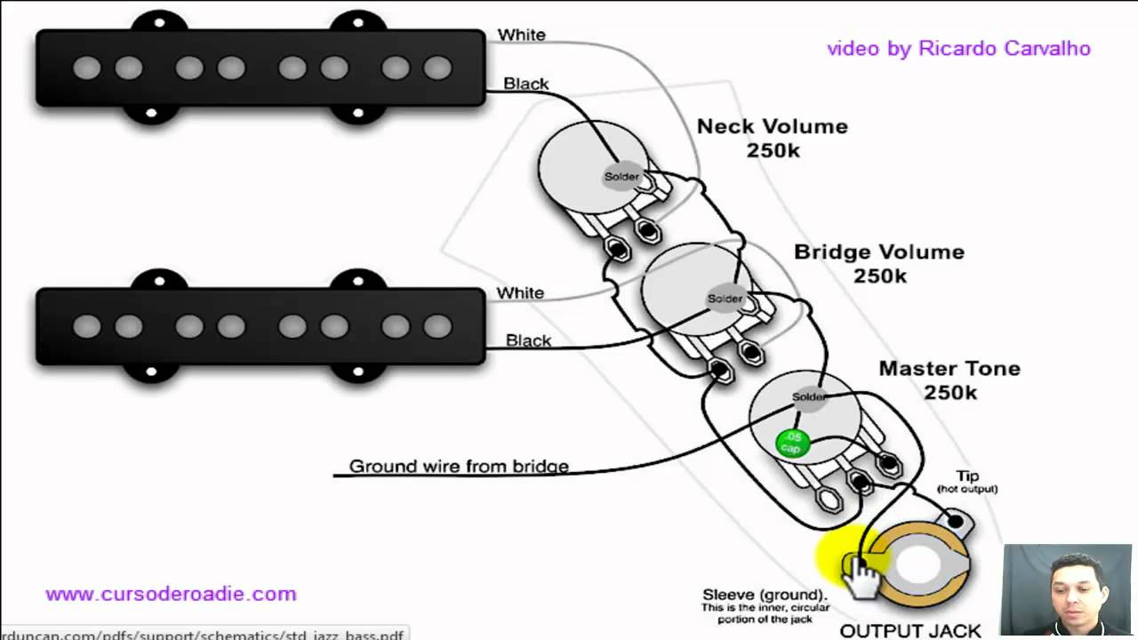 Esquema de circuito de captadores estéreo. Maxresdefault