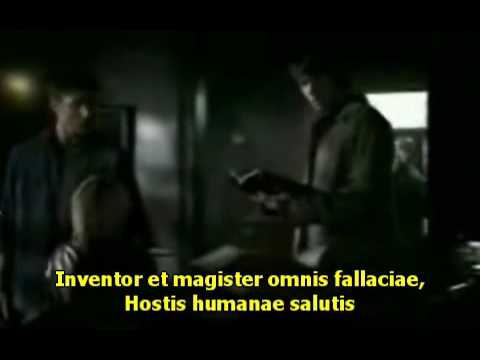 Ritual Romano - Sobrenatural, Meg Masters.wmv