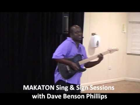 Makaton Sing & Sign Session with Dave Benson Phillips