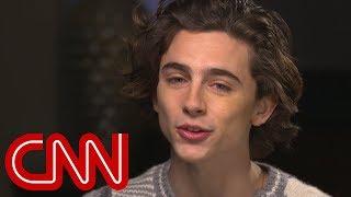 Amanpour questions Chalamet about Woody Allen - CNN
