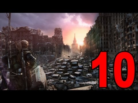 Metro: Last Light - Part 10 - Sneaky Sneaky (Let's Play / Playthrough / Walkthrough)