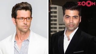 Hrithik Roshan NOT INTERESTED talking about various issues on Karan's chat show? | Bollywood News - ZOOMDEKHO