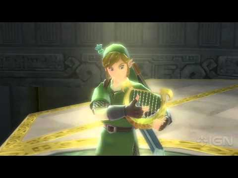The Legend of Zelda: Skyward Sword - Harp Trailer -MEkntSSBmV4