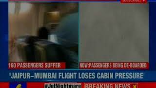 Jet Mid-Air Scare: Jet Airways Mumbai-Jaipur Flight returns due to loss in cabin pressure - NEWSXLIVE