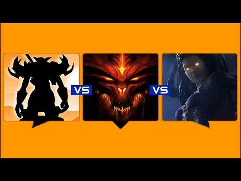 Blizzard Beatdown Video - World of Warcraft vs Diablo vs StarCraft