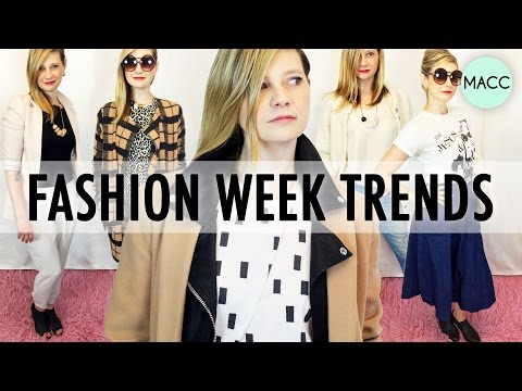 12 NY Fashion Week Trends
