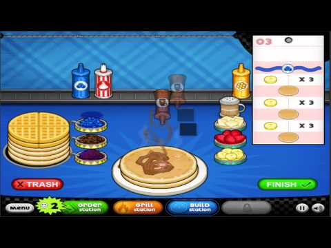papas pancakeria game