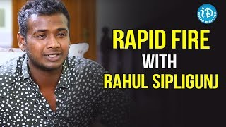 Rapid Fire With Rahul Sipligunj | Punarnavi | Baba Master | Ali Reza | Celebrity Buzz With iDream - IDREAMMOVIES