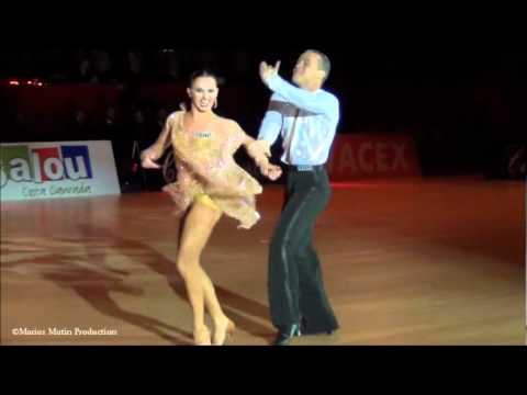 Salou 2011, GrandSlam Latin - solo Chacha, Andrey Zaytsev & Anna Kuzminskaya