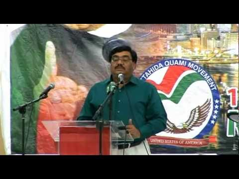 Shabbir Ahmed Qaim Khani & Abdul Moeed Siddiqui in MQM USA Convention 2012