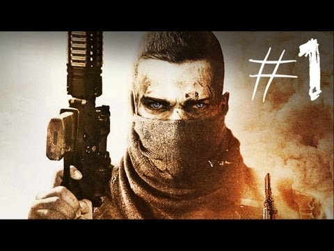 Spec Ops The Line - Gameplay Walkthrough - Part 1 - Mission 1 - HEART OF DARKNESS
