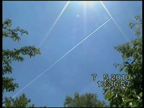 ChemTrails activity over all Greece