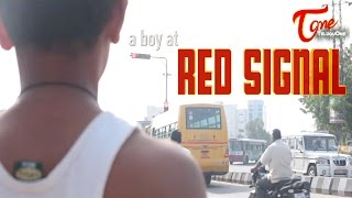 A Boy at Red Signal   Latest Short Film   By Origami Creative Films - TELUGUONE