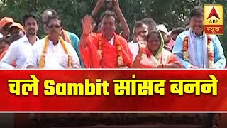 ABP News reports Sambit Patra's full day political campaign - ABPNEWSTV