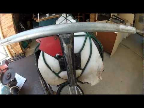 how to make a drift trike axle for home made wheels