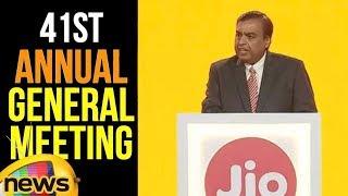 Mukesh Ambani Speech at Reliance 41st Annual General Meeting | Mukesh Ambani Speech | Mango News - MANGONEWS