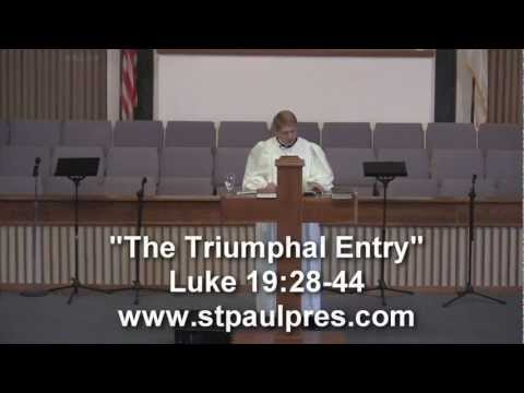 Knoxville Presbyterian Church - The Triumphal Entry