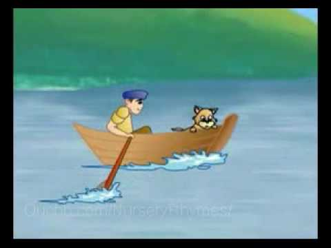 Row Row Row Your Boat - Nursery Rhymes