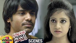 Kiss Kiss Bang Bang 2018 Telugu Movie | Kiran Consoled by his Girl Friend | Mango Videos - MANGOVIDEOS