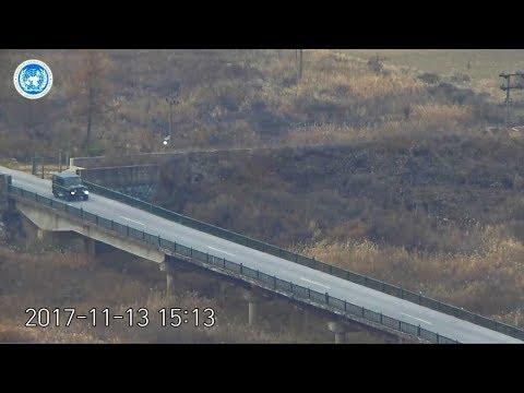 Tak północnokoreański żołnierz uciekł do Korei Południowej