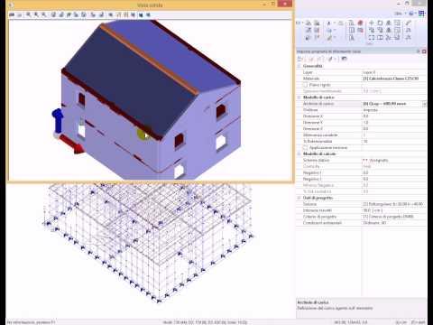 PRO_SAP Analisi di una struttura in muratura