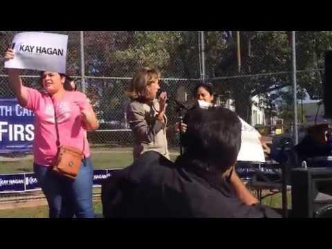 Friends don't DEPORT friends Senator Kay Hagan