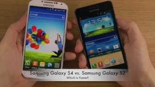 Samsung Galaxy S4 vs. Samsung Galaxy S2 - Which Is Faster?