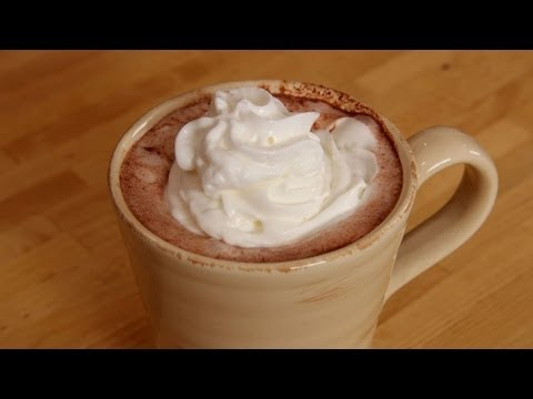 Homemade Hot Chocolate Recipe Laura Vitale Laura in the Kitchen Episode 249