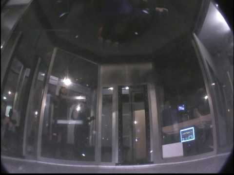 Adam having more fun in the New Hampshire wind tunnel...