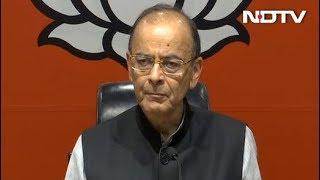 गरीबी हटाओ के नाम पर ये कांग्रेस का छल कपट है : अरुण जेटली - NDTVINDIA
