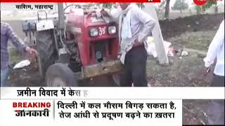 Maharashtra: Man throws his mother in front of tractor to stop rival from cultivating land - ZEENEWS
