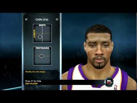 NBA 2K12 - How To Create Markieff Morris