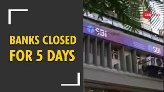 Deshhit: Banks to be closed for 5 days from 21 to 26 December - ZEENEWS