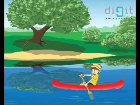 Row Row Row Your Boat - Nursery Rhyme -MKB0HvrnG1Y