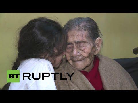 """""""Conoció a Pancho Villa"""": Una mexicana de 127 años podría ser la más longeva del mundo"""