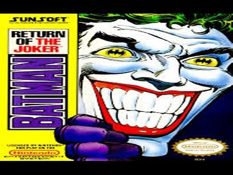 BATMAN - Return Of The Joker - NES - GamePlay By DarkRyoga