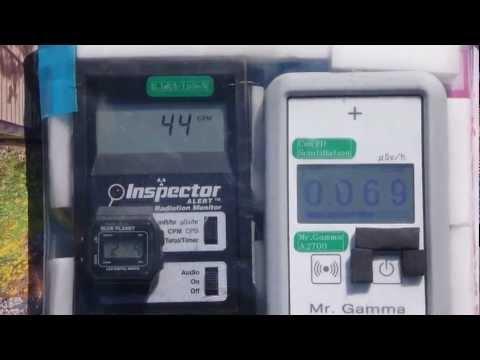 Fukushima Nuclear Accident 東京・墨田公園の放射線測定20120204