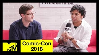 M. Night Shyamalan, Anya Taylor-Joy, & Sarah Paulson on 'Glass' | Comic-Con 2018 | MTV - MTV