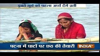 India TV Special Coverage on Chhath Puja 2014 Live from Delhi,Mumbai - INDIATV