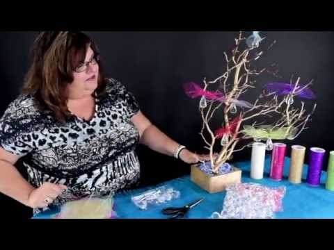 Decorate a Manzanita Tree Centerpiece - DIY Tutorial